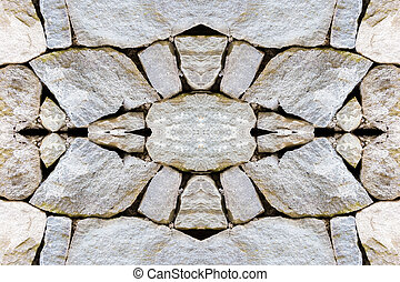 symbology in the background of stones - background made with...