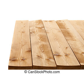 Brown paint coated wooden boards - Brown paint coated wooden...