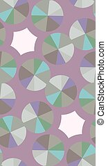 Compact Disc Pattern - Seamless background pattern of...