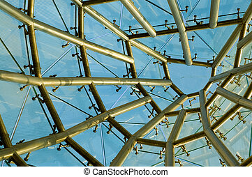 Abstract structure of building