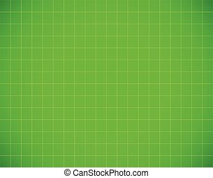 Graph paper pattern in green. Vector graphics