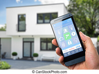 Smart Home Device - Home Control - smart house, home...