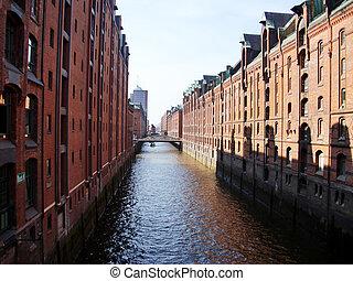 Hamburg - Speicherstadt in Hamburg