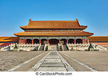 Taihemen Gate Of Supreme Harmony Imperial Palace Forbidden City