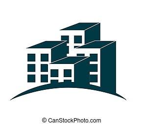 Houses Logo Vector Illustration