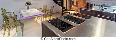 Kitchen and dining room - Modern original kitchen and dining...