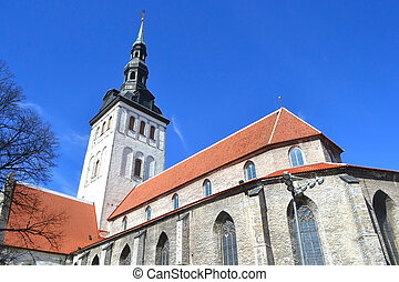 St. Nicholas Church, Tallinn. - St. Nicholas Church in...