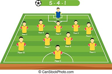 soccer player position tactical