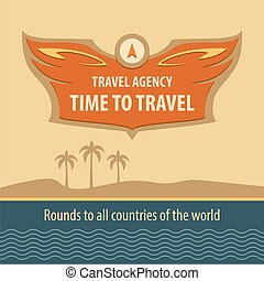 Travel Agency. logo