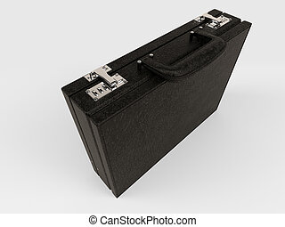 Isolated Briefcase on white