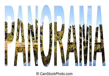 Panorama - Tree reflection