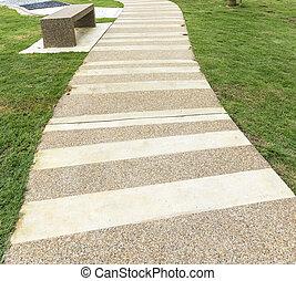 Walkway - Pedestrian walkway