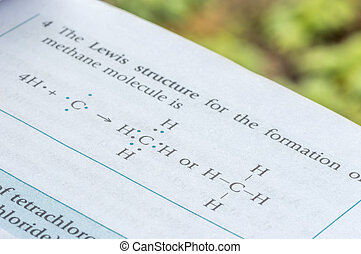 Chemical formula - Formulation of molecule with lewis...