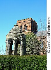 Old Refectory Pulpit, Shrewsbury - The Old Refectory Pulpit...