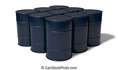 barrels stack