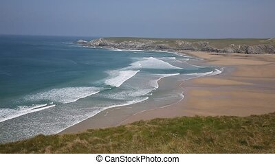Holywell Bay North Cornwall PAN - Holywell Bay North...
