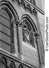 Roermond - details of the architecture of European cities