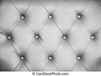 Seamless grey leather texture background