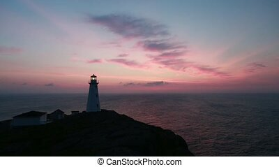 Cape Spear Sunrise - Sunrise at the Cape Spear Lighthouse.