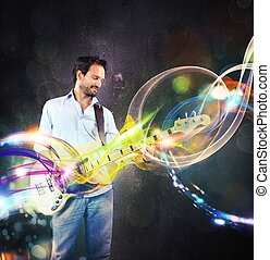 guitarra, Senderos,