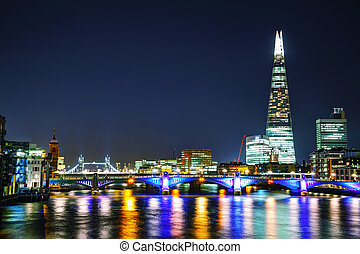 Financial district of the City of London - LONDON - APRIL 4:...