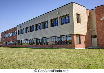 Generic school building - Exterior of generic school...