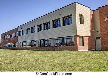 Generic school building - Exterior of generic school...