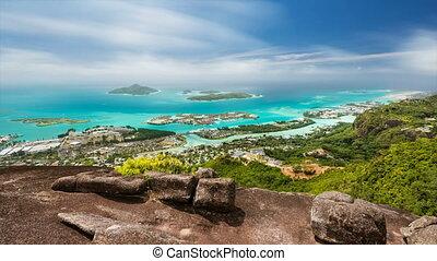Seychelles Long Exposure Timelapse - Long exposure timelapse...