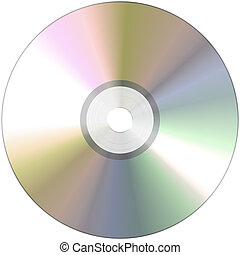 Cd-Rom - An illustration of a nice CD Rom texture