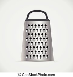 Kitchen grater, vector illustration