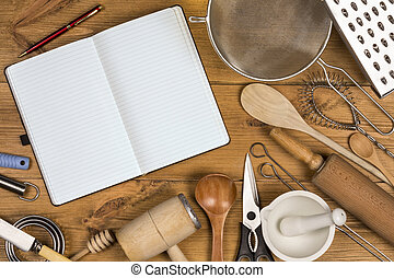 Kitchen Utensils - Space for Text
