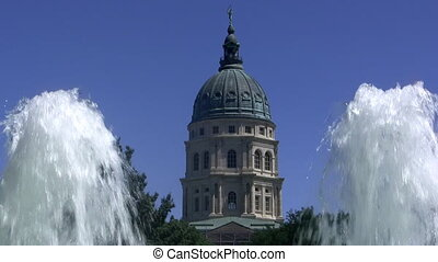 Kansas Capital Building - Capital building of Kansas in...