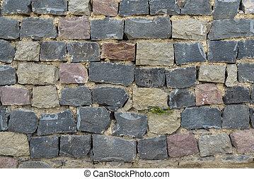 masonry large rough stones - masonry with large rough stones...