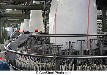 polypropylene cloth loom - a few polypropylene cloth looms