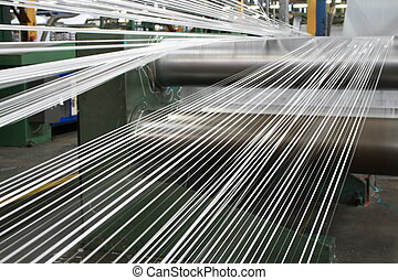 polypropylene tape making line - a polypropylene tape making...