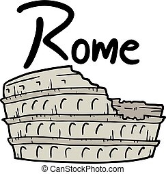 Rome - Creative design of Rome