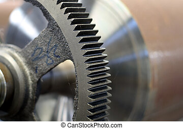 new printing machine gear - a set of new printing machine...