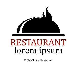 dish icon for restaurant - black dish icon for restaurant...