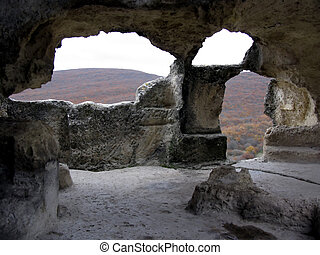 Sacrificial Altar - Fragments of an ancient cave town...