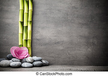Spa stones - Stones spa treatment scene, zen like concepts