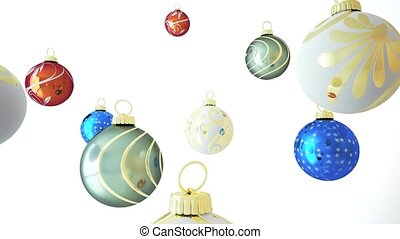 Xmas Balls - This is a very realistic 3D render There is an...