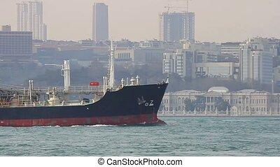 Liquefied Petroleum Gas ship sails