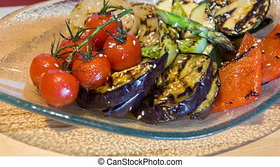 Life camera on tasty grilled vegetables - Do you want to...