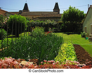 Kitchen Garden - Southwest at the border of Perigord and...