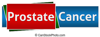 Prostate Cancer Red Blue Button Sty - Prostate Cancer image...