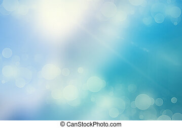 Bokeh lights on a cold background - Bokeh lights on a cold...