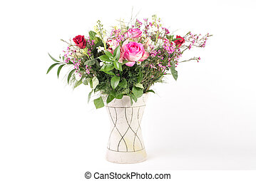 Flower arrangement - A beautiful flower arrangement in a...