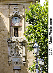 town hall\'s hall, Aix-en-Provence, Provence, France