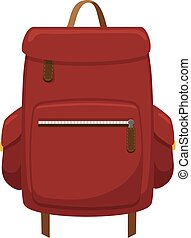 Journey valise. - Isolated icon pictogram. Eps 10 vector...