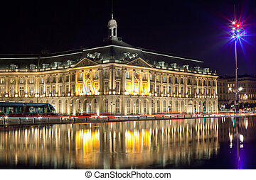 bordeaux stock echange square - Bordeaux place de la bourse...